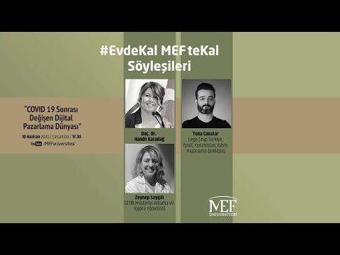 EvdeKal MEFteKal Söyleşileri - 19 COVID 19 Sonrası Değişen Dijital Pazarlama Dünyası