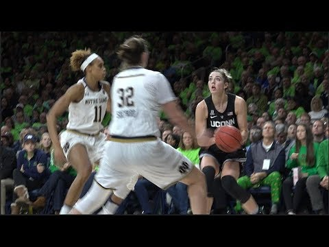 UConn Women's Basketball Dominates Notre Dame - YouTube