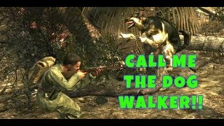 CALL ME THE DOG WALKER!! Call of Duty World at War Gameplay (1080p)