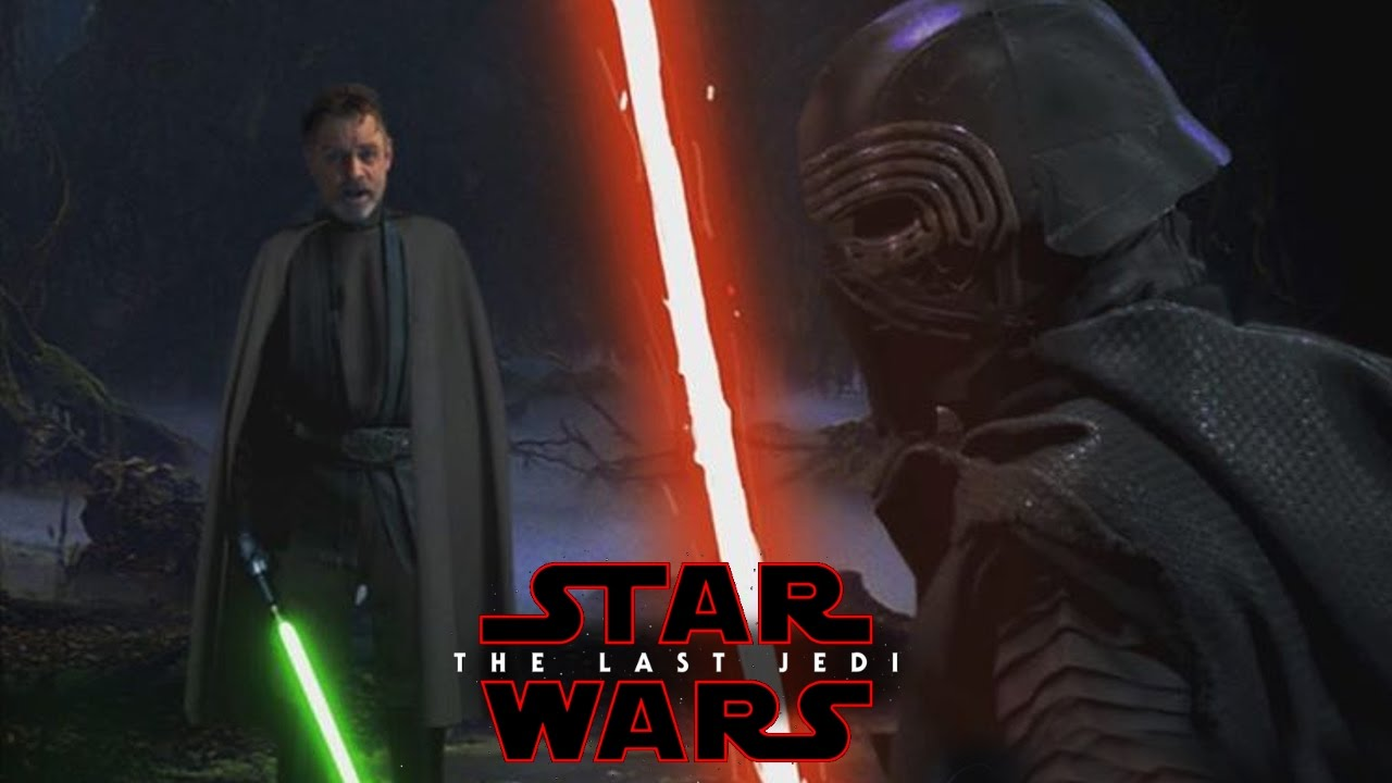 Star Wars The Last Jedi - Luke Skywalker vs Kylo Ren ... | 1280 x 720 jpeg 72kB