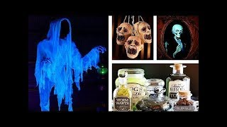 3 Easy halloween Crafts Ideas at Home! 5-minute crafts! handcraft ! halloween party ideas decoration