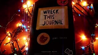 WRECK THIS JOURNAL COMPLETED | УНИЧТОЖЬ МЕНЯ ЗАКОНЧЕН