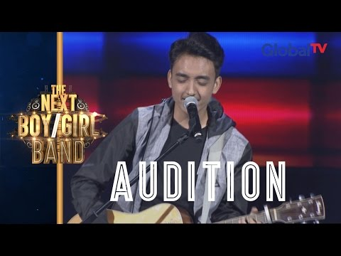 Charmingnya Reza Bawain Photograph Sambil Main Gitar I The Next Boy/Girl Band GlobalTV