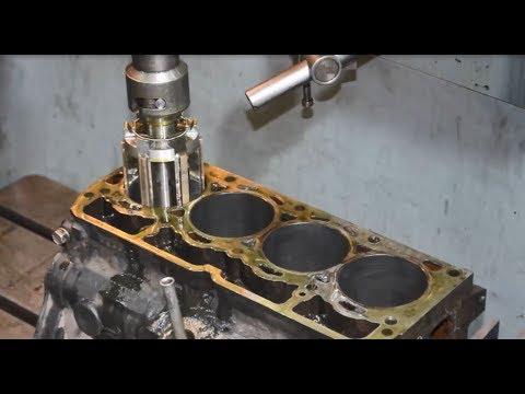Toyota.Дефектовка блока і ремонт.