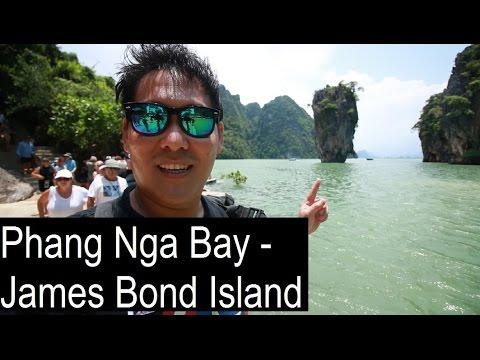 James Bond Island & Panyee Muslim Floating Village - Phang Nga Bay Tour - Part 1