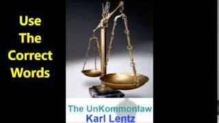 084 - Karl Lentz -  Use The Correct Words