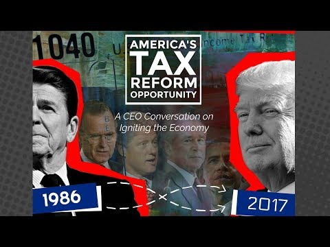 America's Tax Reform Opportunity: A CEO Conversation on Igniting the Economy