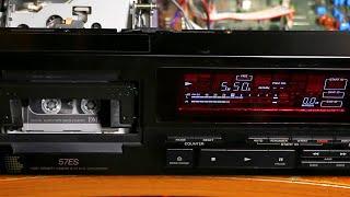 Sony DTC-57ES: первые шаги после ремонта ЛПМ