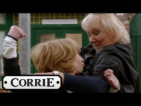 Coronation Street - Eileen And Gail Fight It Out