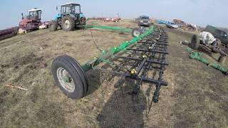 Обзор-видео! Сцепка борон гидрофицированная пружинная БГП-14 Завод Агро-Ресурс г. Липецк