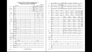 Pirates of the Caribbean by Klaus Badelt/arr. Michael Sweeney