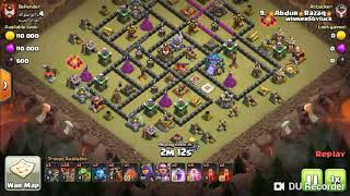 Laloon War Attack ...th11 strategy...Best Air troop ever!!!