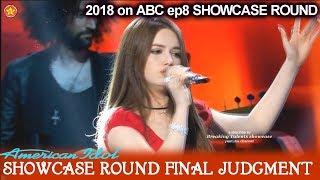 Mara Justine 15 yo sings It Must Be Love  Showcase Round Final Judgment American Idol 2018