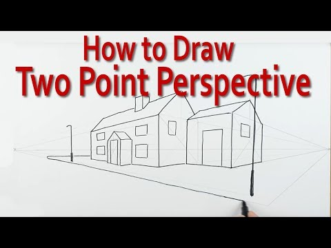 How To Draw Using Two Point Perspective