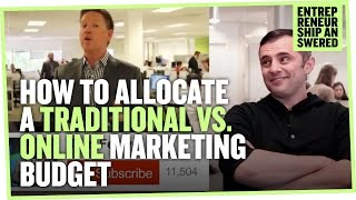 How to Allocate a Tradiтional vs. Online Marketing Budget