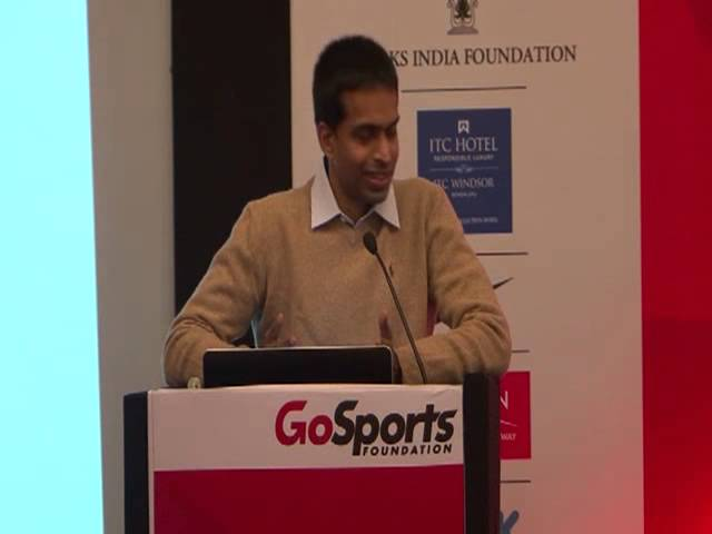 Pullela Gopichand's speech at the GoSports Foundation Athletes' Conclave 2013
