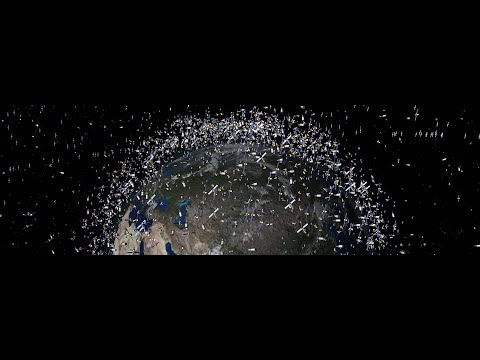 Space Junk: A Traffic Crisis In Outer Space?
