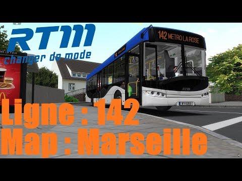 Map: Marseille Ligne 142 /////// Bus: Solaris Urbino 12 [OMSI2]
