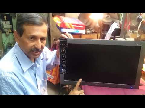 No display problems on videocon lcd tv (Bengali Tutorial)