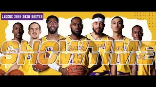 *New Showtime Lakers 2019-2020 Roster | Anthony Davis Highlights [NBA 2K19]