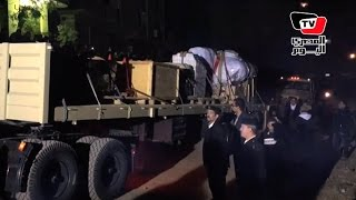 مراسم نقل «رمسيس الثاني» من المطرية إلي المتحف المصري