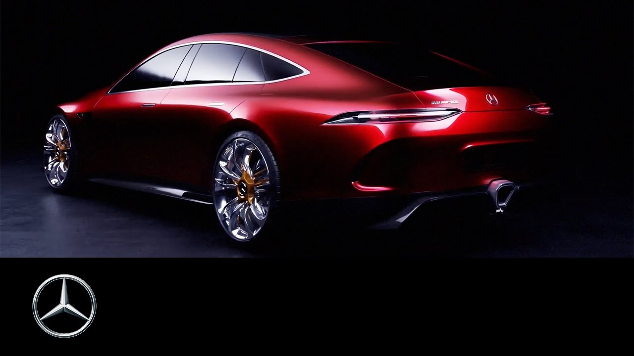 Mercedes-AMG GT Concept – Driving Performance der Zukunft