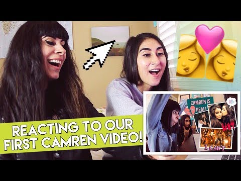 Reacting to Our First Camren Video! (Fifth Harmony)
