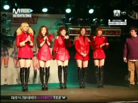110322 Mnet 엠픽 M!PICK by 걸스데이 Girl's Day