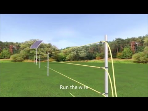 Installing An Electric Fence Youtube