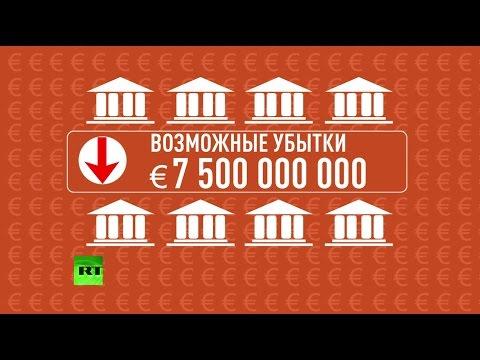 Европейский бизнес прогнозирует серьезные потери из-за девальвации рубля
