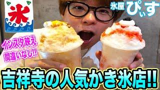 吉祥寺の大人気店「氷屋ぴぃす」のかき氷がマジで最高でした!!
