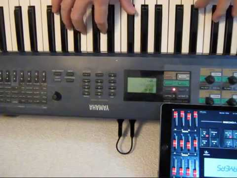 Wireless Bluetooth MIDI from Synth to iPad
