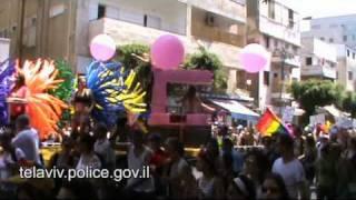 tlv police אבטחת מצעד הגאווה תל אביב 2010