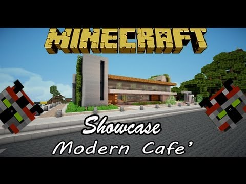 how to make a cafe in minecraft