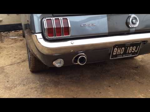 Ford mustang 66 Scott Drake exhaust tips