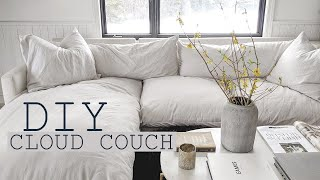 DIY Cloud Couch