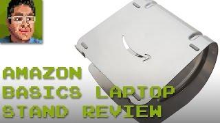 AmazonBasics Laptop Stand Review