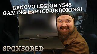 Lenovo LEGION Y545 Gaming Laptop Unboxing