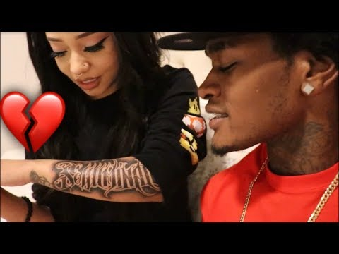YOU REALLY TATTOOED MY NAME ON YOUR ARM !!