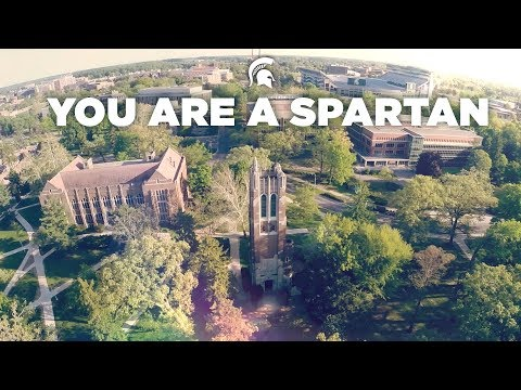 You Are A Spartan | Michigan State University Fall Welcome