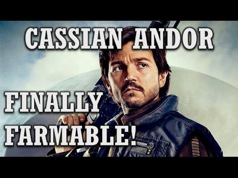 Cassian Andor FINALLY FARMABLE! Max Gear Review and Gameplay! SWGoH