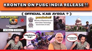 KRONTEN ON PUBG MOBILE INDIA RELEASE , TRAILER , BETA ACCESS | PUBG INDIA NEWS🔥