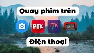 Ứng dụng quay phim chuyên nghiệp trên điện thoại // Camera Apps
