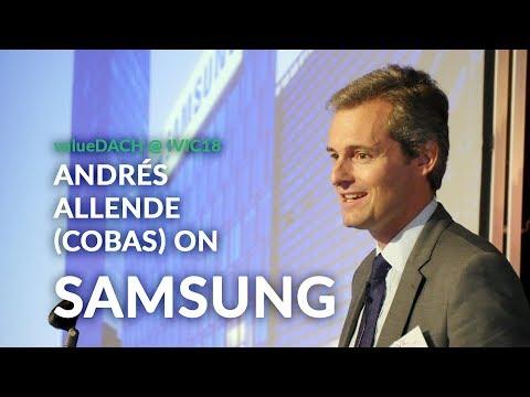 Andrés Allende (cobas asset management) on Samsung Electronics
