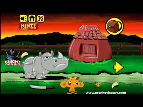 Monkey Go Happy Stage 3 Gameplay Walkthrough Solution How To Solve? Answer #3