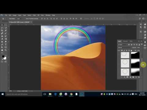 Học Photoshop: Các kỹ thuật che dấu hình ảnh trong Photoshop