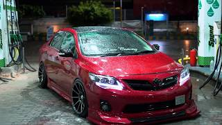 India's First Bagged Corolla Altis   Retro Customs   N1 Concepts   Airlift Performance