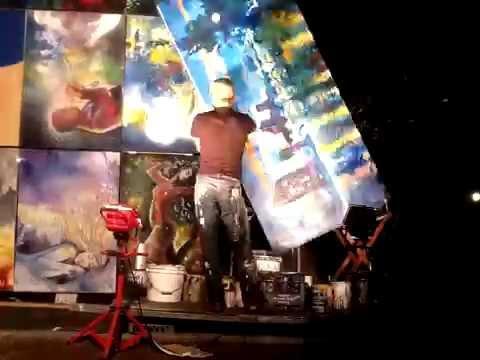 Art Prize Artist Time Lapse