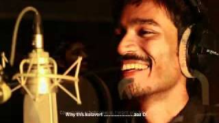 why this kolaveri high quality karaoke track!
