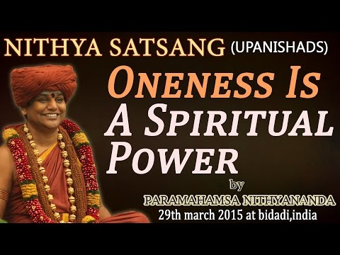Oneness Is A Spiritual Power